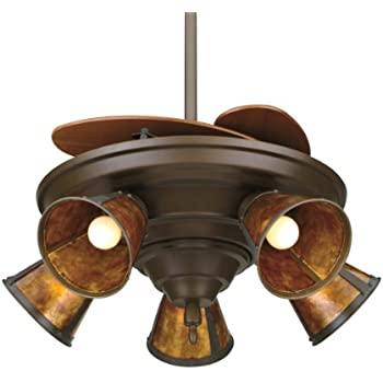 Fanimation Fp825ob 43 Inch Air Shadow Traditional 5 Blade Ceiling Fan Oil Rubbed Bronze