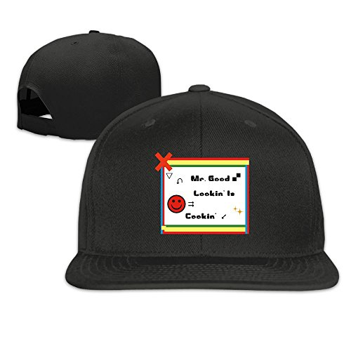 Unisex Mr. Good Lookin' Is Cookin' Funny Couples Snapback Hats Sports Baseball Cap Adjustable Flat Hat