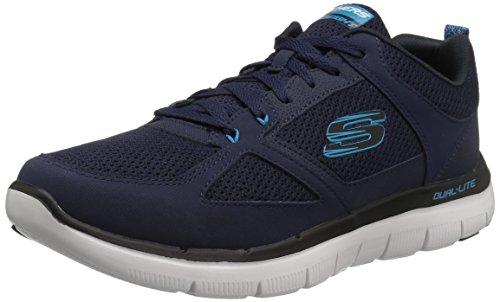 Skechers Sport Mens Flex Flex 2.0 Sneaker Blu / Blu