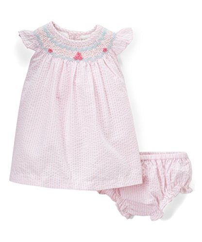 Infant Dresses Bishop (Phlona Baby Girls' Bishop Smocked Dress)