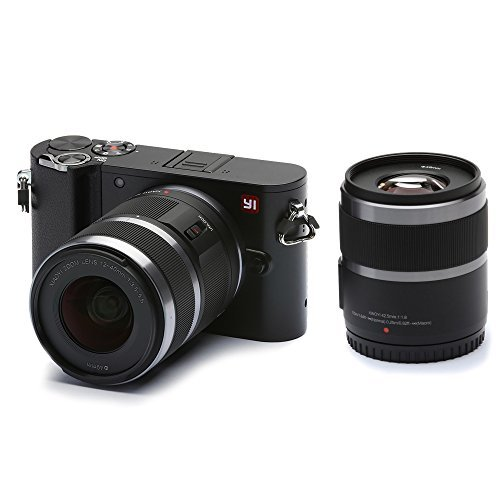 YI M1 4K 20 MP Mirrorless Digital Camera with Interchangeable Lens 12-40mm F3.5-5.6 Lens / 42.5mm...