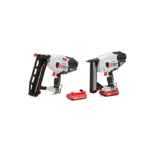 Porter-Cable PCC792B&791LA&682 Nailer and Stapler Combo Kit