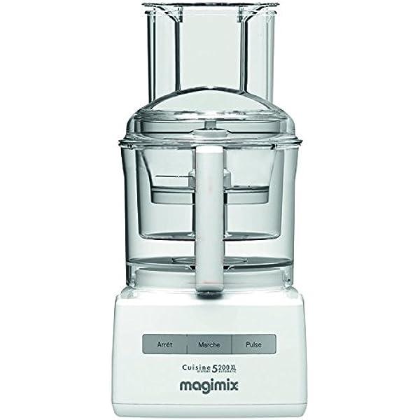 Magimix CS 5200 XL Premium Robot de cocina, 1100 W, Blanco: Amazon ...