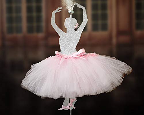 Centro de mesa de bailarina de cualquier color, centro de mesa de ballet para ninas, fiesta de cumpleanos, bailarina, decoracion de baile de ballet, evento, tutu, decorac