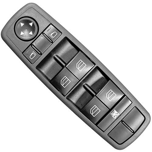 APDTY 133983 Master Power Window & Mirror-Adjust Switch Fits 2006-2011 Mercedes ML350 ML500 ML63 AMG GL350 GL450 GL500 (Replaces 2518300090, 251 830 00 90 9051, 251 820 01 10 9051, ()
