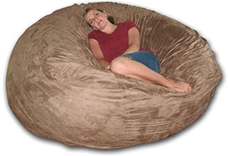 6 Ft Round Foam Bag Chair Like Lovesac