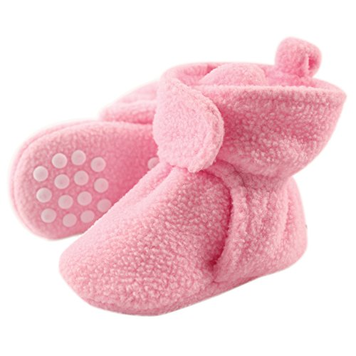 Luvable Friends Baby Girls' Fleece Scooties
