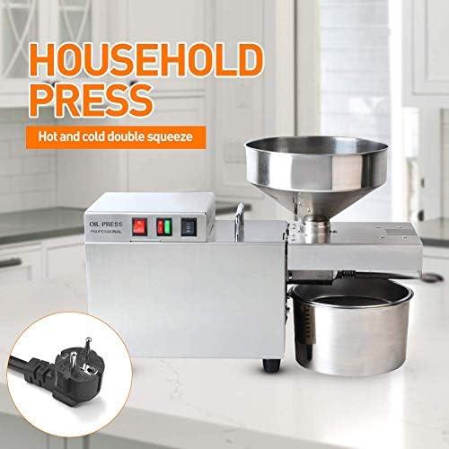 Comercial prensa de aceite de prensa de aceite de prensa de aceite manual eléctrico Electrical Appliance Industria prensa de aceite en frío