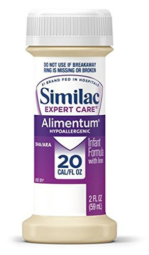 Similac Alimentum, Ready to Feed, 2 Fl Oz Bottle, 48 Bottles Expert Care Infant Formula - purple by Similac