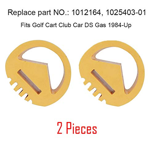 (2pcs)Shop Buffer for Club Car Snubber Gas Golf Cart DS Precedent Carryall Turf Motor Engine Mount 1012164, 1025403-01,Fits The Following Carts: Club Car DS Gas 1984-Up and 2004-Up Gas Precedent Golf