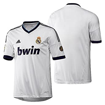 best service 14f27 9c208 Amazon.com: adidas Real Madrid Home Jersey 2012-13 Youth (YL ...