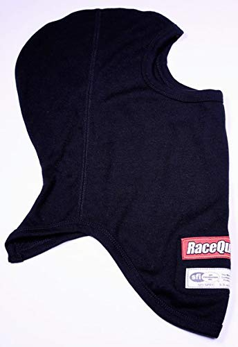 RaceQuip 433991 Black SFI 3.3 Head Sock One Layer