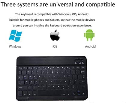 SZILBZ Bluetooth Wireless Keyboard Tablet Fit product image