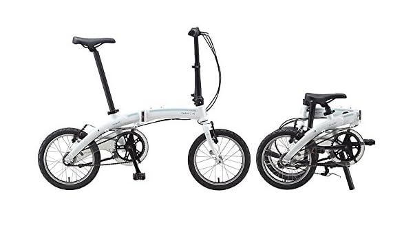 16 Pulgadas Bicicleta plegable Dahon Curve i3, 3 marchas Color Blanco bicicleta plegable para: Amazon.es: Deportes y aire libre