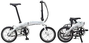 16 Pulgadas Bicicleta plegable Dahon Curve i3, 3 marchas Color Blanco bicicleta plegable para