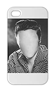 Elvis Presley The King Of Rock N Roll FACELESS Iphone 5-5s plastic case