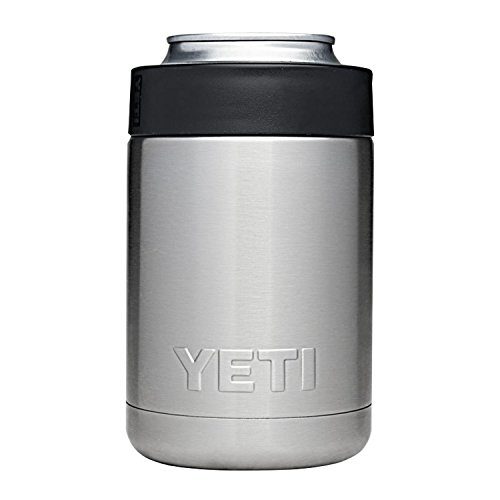 YETI Rambler Colster Can and Bottle Holder Silver One Size