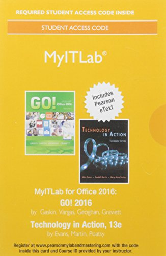 MyITLab with Pearson eText -- Access Card -- for T…