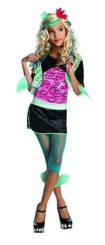 Monster High Lagoona Blue Costume - One Color - Small for $<!--$14.40-->