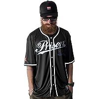 Camisa de Baseball Prison Kansas City 22 Preta