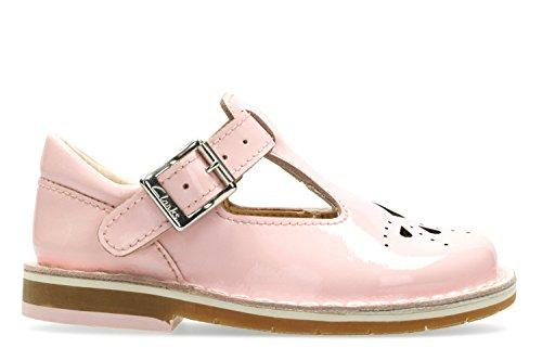 Clarks Yarn Weave Fst, Botines de Senderismo para Bebés Rosa (Baby Pink)