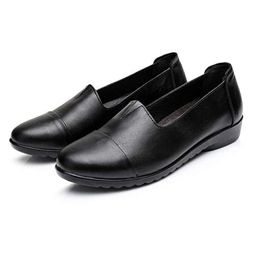 Scarpe Da Mocassino Casual Femminile Black Lavoro Donna Plnxdm Loafer d51axqdY