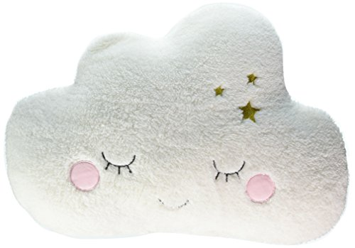 (Little Love by NoJo Cloud Shaped Pillow, White)