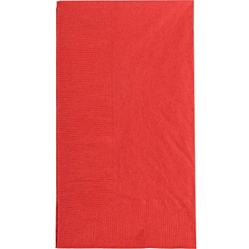 (Red Dinner Napkin, Choice 2-Ply, 15