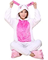 XMiniLife Blue Rabbit Unisex Adult Halloween Kigurumi Onesie