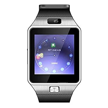 DZ09 Touch Screen Intelligent Smart Watch Phone Mate for iPhone IOS Samsung Android - White