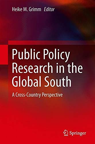 Public Policy Research in the Global South: A Cross-Country Perspective