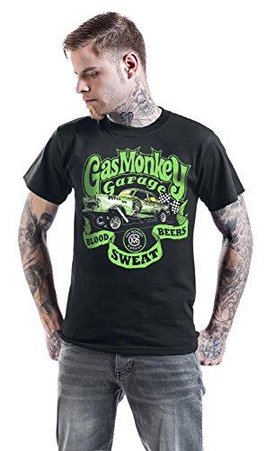 Gas Monkey Garage T-Shirt Gasser, Farbe:black;Größe:S: Amazon.es ...