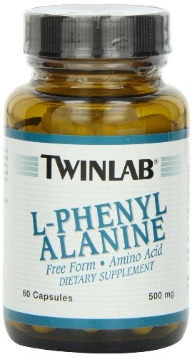 Twinlabs L-Phenylalanine 500mg, 60 Capsules