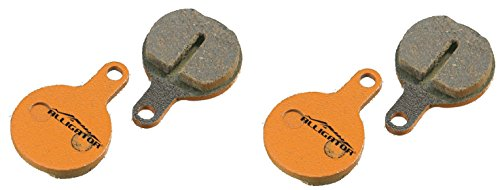 Alligator Organic MTB Bike Disc Brake Pads for Tektro Novela/ IOX /Lyra (2 Pair) Alligator Disc