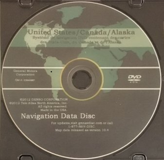 Amazon.com: GM North America Navigation LATEST DVD Map GPS Update ...