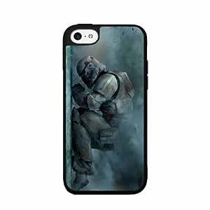 Storm Trooper Plastic Phone Case Back Cover iPhone 5c includes BleuReign(TM) Cloth and Warranty Label