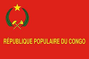 magFlags Large Flag Congo Army between 1970-1992 | landscape flag | 1.35m² | 14.5sqft | 90x150cm | 3x5ft - 100% Made in Germany - long lasting outdoor flag