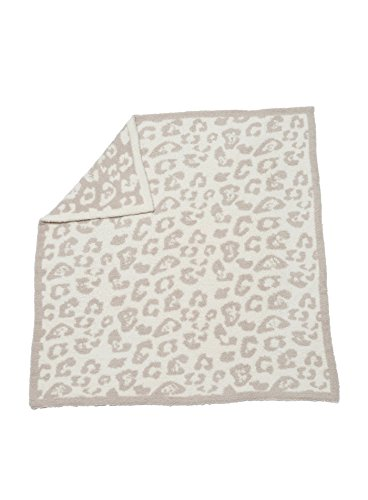 Barefoot Dreams Cozychic Barefoot in the Wild Baby Blanket - Stone / Cream