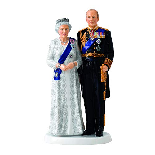 Royal Doulton Queen Elizabeth's Wedding Platinum Anniversary 9.6