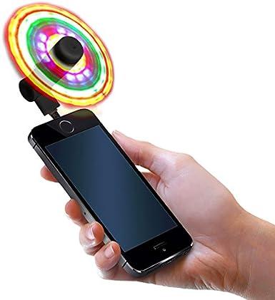 FlashFan – Ventilador de luz para teléfono móvil – Ventilador de ...