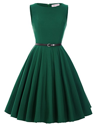 A-Line Women Vintage Style Party Swing Dress Size 2XL BP157-4 by Belle Poque