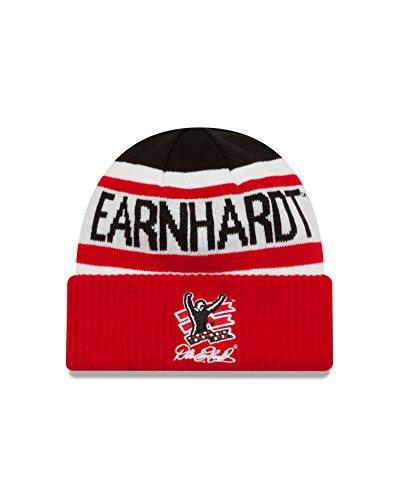 NASCAR Dale Earnhardt Dale Earnhardt Biggest Fan 2.0 Knit Beanie, One Size, Black Dale Earnhardt Jr Fleece