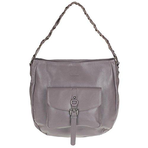 Gräschen , Sac pour femme à porter à l'épaule gris éléphant
