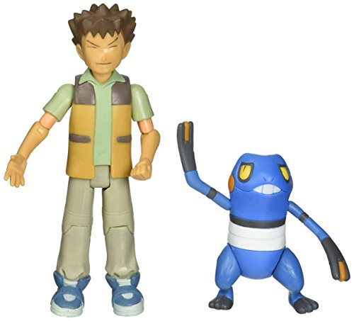 PokeMon Diamond and Pearl Exclusive Collector Trainer Set : BROCK and SUDOWOODO