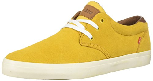 Globe Men's Willow Skate Shoe, Golden, 11 M US (Skateboard Yellow Shoe)