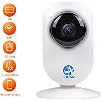 JOOAN 720P HD IP Camera WiFi Video Monitoring Supports Two Way Audio and Remote Monitoring (720P WiFi Camera(A5M-D))