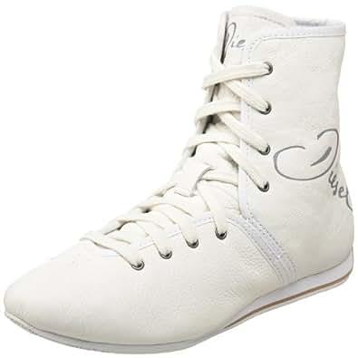 Diesel Women's Essense Ankle Boot,White,5 M US