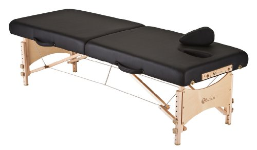 EARTHLITE MediSport Portable Massage Table Package - Heavy Duty, Low Height Range, Ideal for Osteopaths, Chiropractors & Physical Therapists incl. Face Hole, Filler and Carry Case