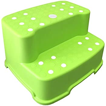 Amazon Com Graco 2 Step Transitions Step Stool Green