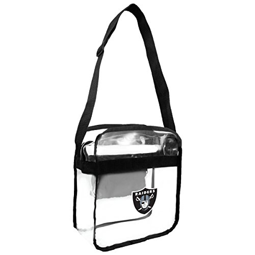 NFL Oakland Raiders Clear Carryall Crossbody Purse